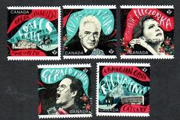 Sc. # 2971-75 Canadian Opera Booklet Set 2017 Used K622 - 1952-.... Règne D'Elizabeth II