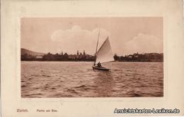 Ansichtskarte Zürich Partie Am See 1910 - ZH Zurich