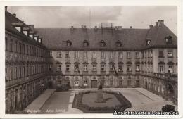 Ansichtskarte Bayreuth Foto AK - Altes Schloß 1938 - Bayreuth