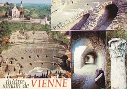 38 Vienne Sur Le Rhône Le Théatre Romain Divers Aspects (2 Scans) - Vienne
