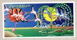 SOMALIA, 1998 - FOGLIETTO - SOUVENIR SHEET - FENICOTTERI - FLAMINGOES - MNH** - Somalië (1960-...)