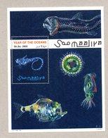 SOMALIA, 1998 - FOGLIETTO - SOUVENIR SHEET - OCEANI - OCEANS - MNH** - Somalië (1960-...)