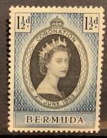 BERMUDA - MH* - 1953 - #  142 - Bermuda