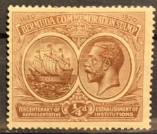 BERMUDA - MH* - 1920 - #  55 - Bermuda