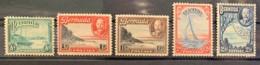 BERMUDA - M/U - 1936-1940 - #  105/109, 110 - Bermuda