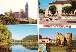 38 Frontonas Divers Aspects (2 Scans) - Frankrijk