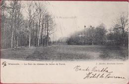 Westmalle  Le Parc Du Château Du Baron De Turck 1904 (beschadigd) - Malle