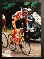 Jesper Skibby - TVM - 1992 - Carte / Card - Cyclists - Cyclisme - Ciclismo -wielrennen - Ciclismo