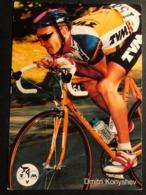 Dmitri Konyshev - TVM - 1992 - Carte / Card - Cyclists - Cyclisme - Ciclismo -wielrennen - Ciclismo