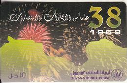 LIBYA - Libyana Prepaid Card LYB 10, Used - Libia