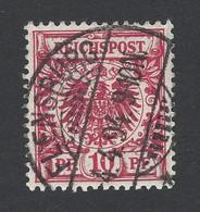 Deutsches Reich Krone Adler Mi.Nr. 47 O Mit St FLENSBURG - Germany