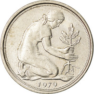 Monnaie, République Fédérale Allemande, 50 Pfennig, 1979, Stuttgart, TTB - [ 7] 1949-… : RFA - Rep. Fed. Alemana