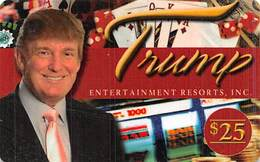 Trump Entertainment Casinos Atlantic City, NJ Gift Card (No Cash Value) - Gift Cards