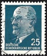 German Democratic Republic 1963 - Mi 934X - YT 564A ( President Walter Ulbricht ) - [6] Democratic Republic
