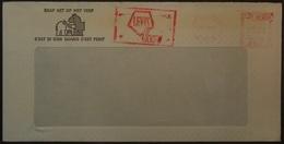 Belgium - Advertising Meter Franking Cover 1975 Logo Levis Vilvoorde - Franking Machines