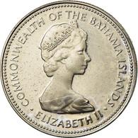 Monnaie, Bahamas, Elizabeth II, 25 Cents, 1973, Franklin Mint, U.S.A., SUP - Bahamas