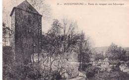 67 - Bas Rhin -  WISSEMBOURG - Partie Du Rempart Vers Schweigen - Wissembourg