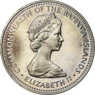 Monnaie, Bahamas, Elizabeth II, 5 Cents, 1973, Franklin Mint, U.S.A., SUP - Bahamas