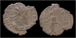 Tetricus I Billon Antoninianus Salus Standing Left - 5. Der Soldatenkaiser (die Militärkrise) (235 / 284)