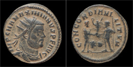 Maximian Billon Antoninianus Emperor Standing Right - 6. Die Tetrarchie Und Konstantin Der Große (284 / 307)