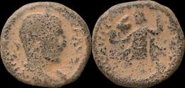 Judaea Caesarea Maritima Under Trebonianus Gallus AE23 - Romane