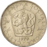 Monnaie, Tchécoslovaquie, 5 Korun, 1979, TTB, Copper-nickel, KM:60 - Tschechoslowakei