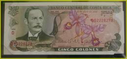 BILLET DE BANQUE COSTA RICA NEUF - Costa Rica