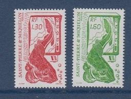 S.P.M.-1988-N°490/491** LA PECHE - St.Pierre & Miquelon