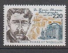 S.P.M.-1988-N°488** DOCTEUR L.THOMAS - St.Pierre & Miquelon