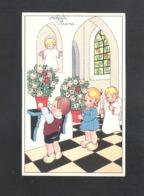 OUDE POSTKAART - VROLIJK  PASEN  (9644) - Pasqua