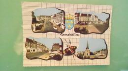 60CARTE DE GRANDVILLIERSN° DE CASIER C1 916CIRCULECARTE 150X105 - Grandvilliers