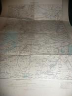 MACEDOINE : BITOLA ( MONASTIR )    CARTE DE 1906 K.u.K. MILITÄRGEOGRAPHISCHES INSTITUT - Geographical Maps