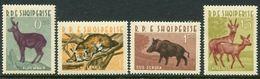 Albania 1962 ☀ Fauna / Mi. 699/702 Set Of 4v ☀ MNH** - W.W.F.