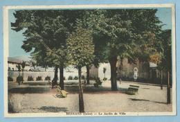 2313   CPA  MOIRANS  (Isère)  Le Jardin De Ville  ++++++ - Moirans