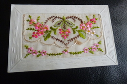 BELLE CARTE BRODEE .... - Embroidered