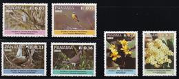 Panama - 1987- Sc 711 713-717 - Birds - MNH - Colibris