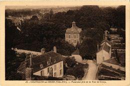 CPA Chatillon-sur-Seine (Cote-d'Or)- Panorama Pris De La Tour De Gissey(587102) - Chatillon Sur Seine