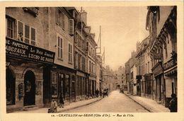 CPA Chatillon-sur-Seine (Cote-d'Or)- Rue De L'Isle (587105) - Chatillon Sur Seine