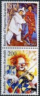 Haut Karabach -Bergkarabach - Nagorno Karabakh - Arménie 2002 Y&T N°v1à 2 - Michel N°(?) *** - EUROPA - Se Tenant - Armenien