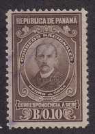 Panama - 1915 - Sc J4 - Postage Due Stamps - Pedro J Sosa - Used - Panama