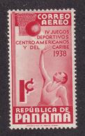Panama - 1938 - Sc C43 - 4th Central American Caribbean Games - MH - Panama