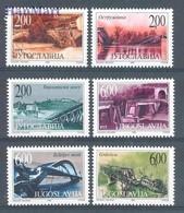 Yugoslavia 1999 Mi 2932-2937 MNH ( ZE2 YUG2932-2937 ) - Non Classés