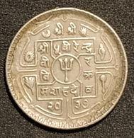 NEPAL - 25 PAISA 1977 - ( 2034 ) - Mahendra Bir Bikram - KM 815 - Nepal