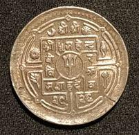 NEPAL - 25 PAISA 1972 - ( 2029 ) - Mahendra Bir Bikram - KM 815 - Nepal