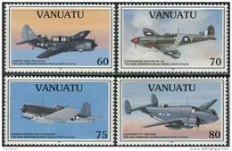 Vanuatu 1995. Michel #991/94 MNH/Luxe. Aviation. Airplanes (Ts21/27) - Vanuatu (1980-...)