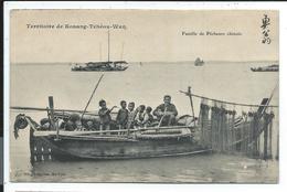 Chine , Prix Revu ,  Famille De Péccheurs Chinois , Territoire De Kouang Tchéou Wan - China