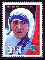 Ireland 2000 MNH, Millennium, Mother Teresa, Nobel Peace Winner - Mother Teresa