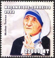 Mozambique 2002 MNH, Mother Teresa Nobel Peace Winner - Mother Teresa