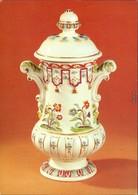 Ansichtskarte Meißen Porzellan-Manufaktur: Balustervase, Böttgerporzellan 1981 - Meissen