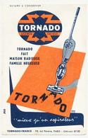 Buvard 13.4 X 21 TORNADO Aspirateur Licence Suisse Illustrateur Emile Dulac - Electricité & Gaz